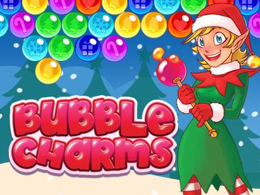 bubble charms christmas kostenlos online spielen auf denkspiele. Black Bedroom Furniture Sets. Home Design Ideas