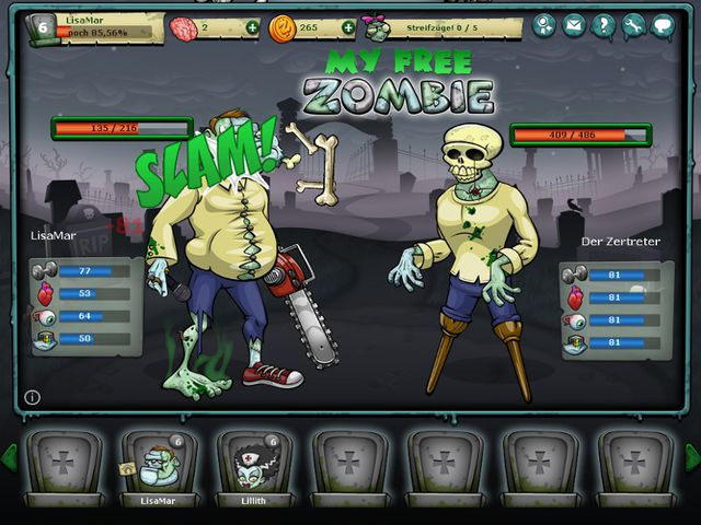 zombie browsergame