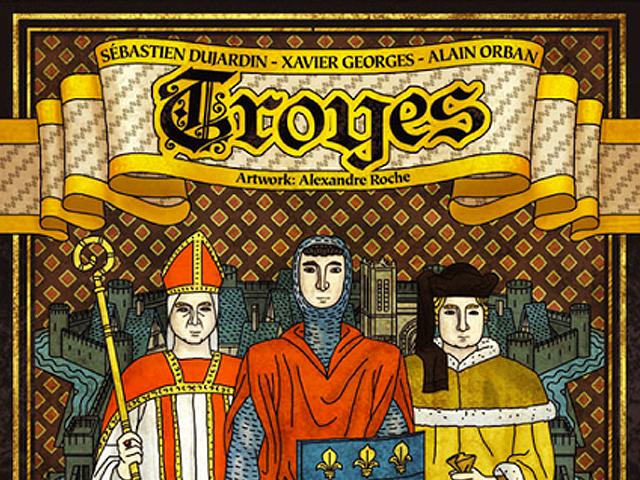 Troyes spiel anleitung und bewertung auf alle for Dujardin xavier