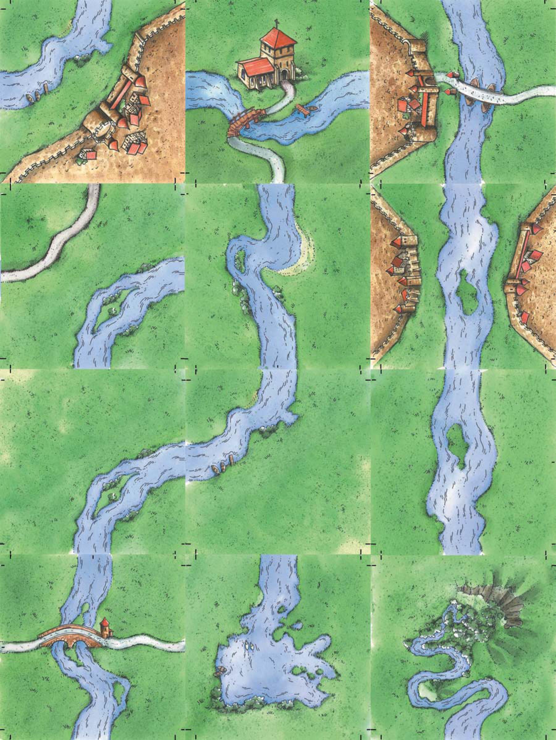 Carcassonne Erweiterung Der Fluss II altes Layout