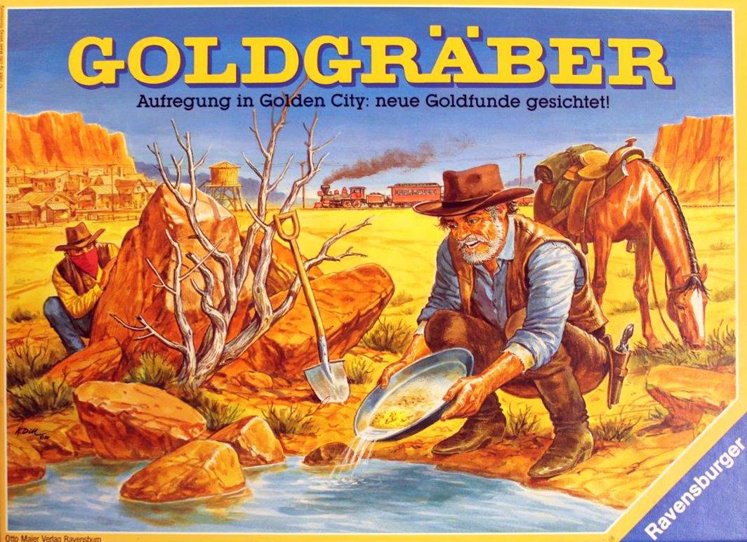 Goldgräber Spiel