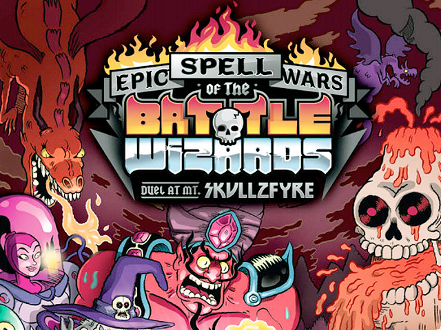 Skul Cryptozoic Entertainment Epic Spell Wars of the Battle Wizards Duel at Mt