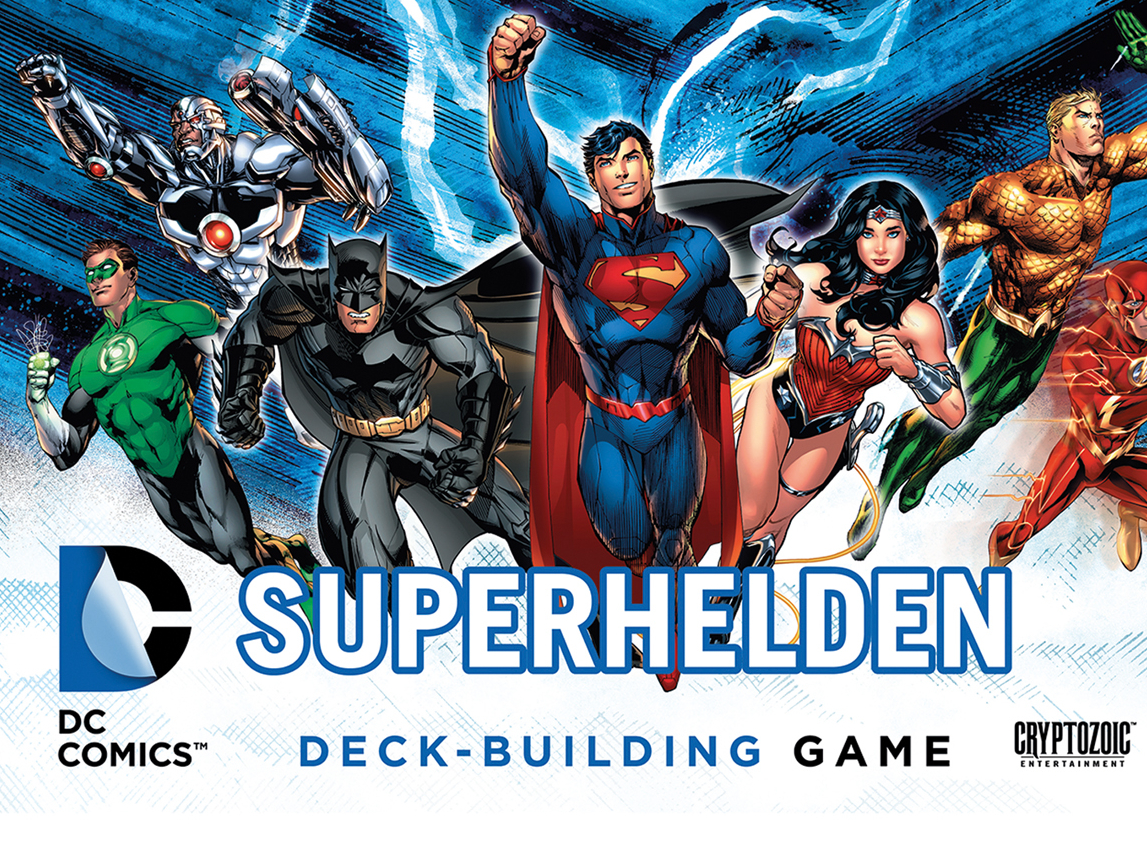 dc superhelden deck building game spiel anleitung und bewertung auf alle brettspiele bei. Black Bedroom Furniture Sets. Home Design Ideas
