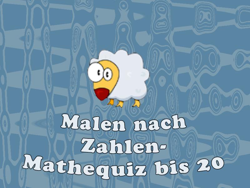 Malen nach Zahlen - Mathequiz bis 20 kostenlos online spielen auf ...