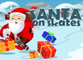 santa on skates kostenlos online spielen auf geschicklichkeitsspiele spielen.de