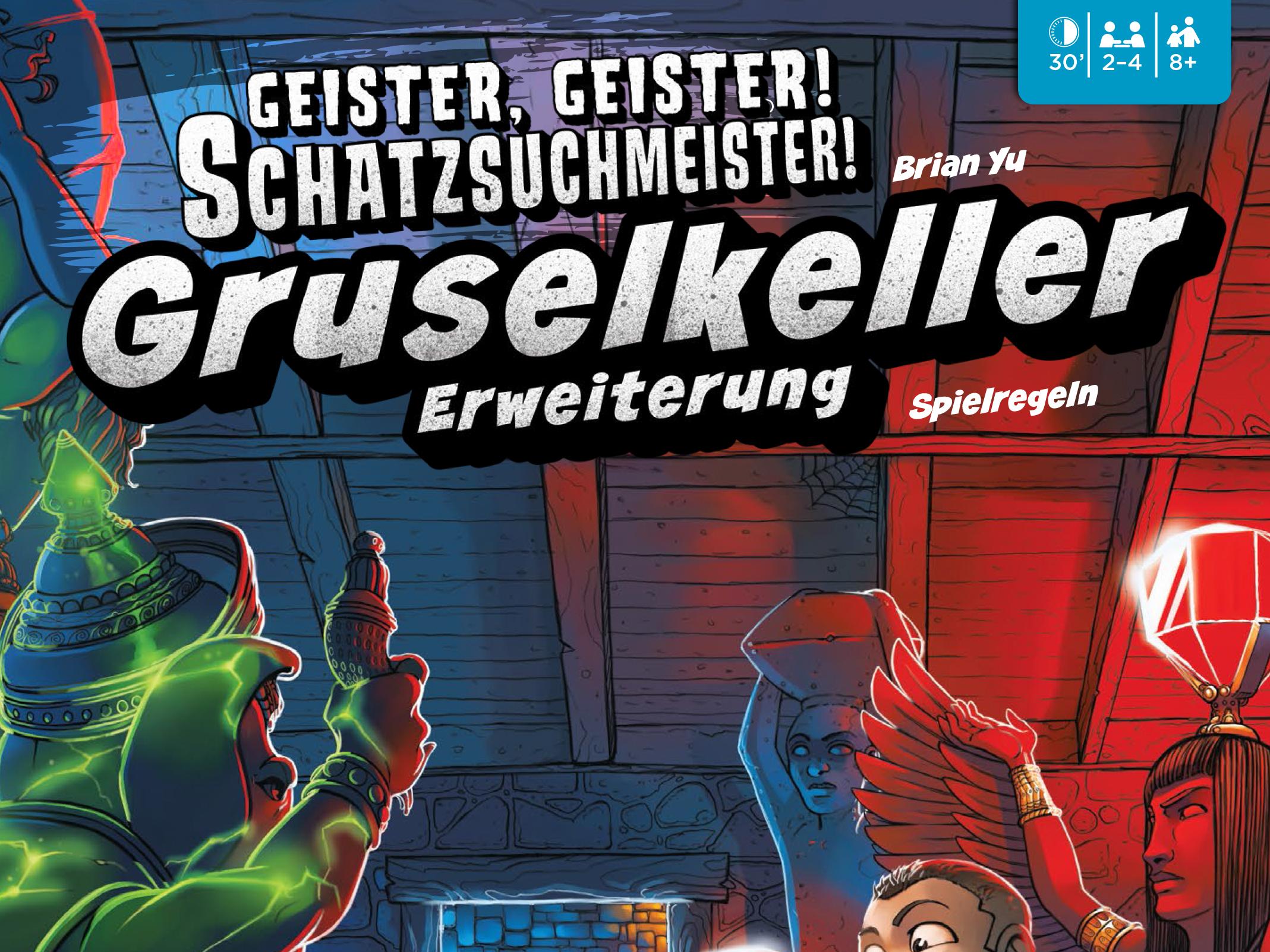 Geister Geister Schatzsuchmeister Anleitung